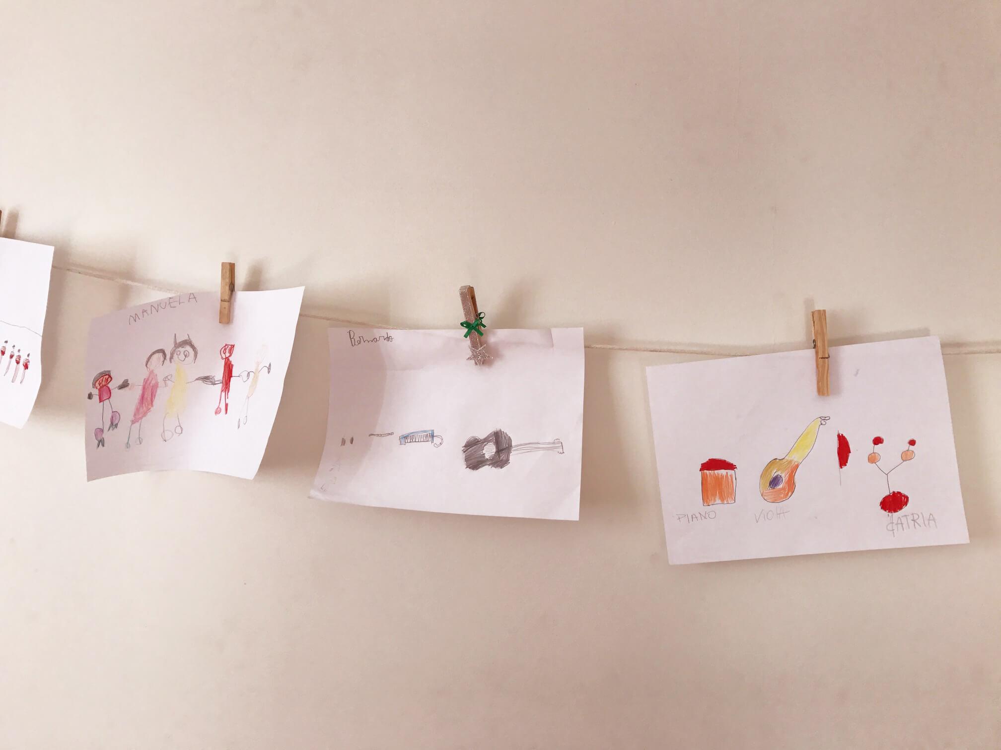 desenhos de crianças faça voce mesmo