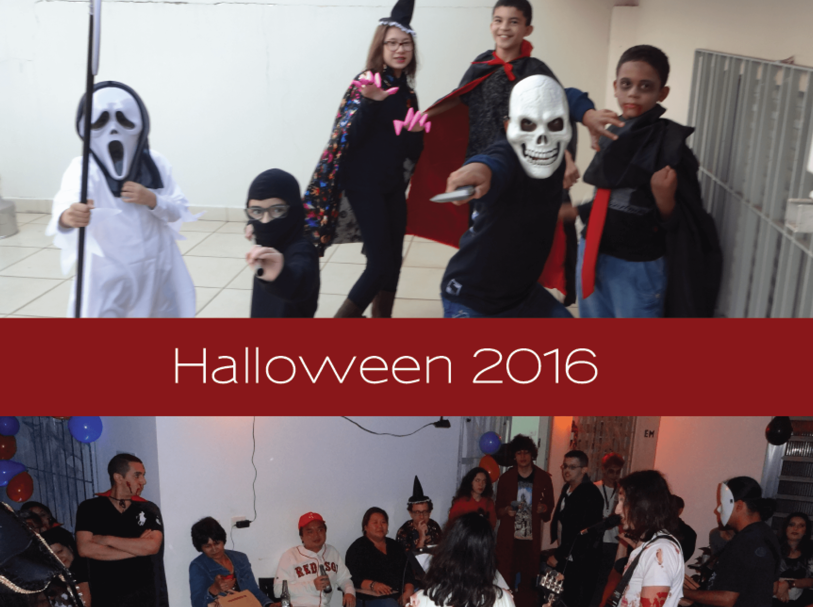 Festa de Halloween 2016