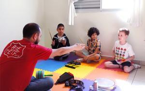 Aula Musicalização para Crianças