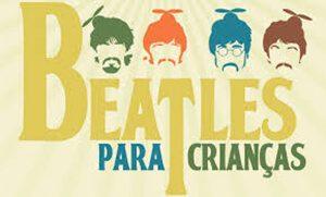 Banner Beatles para crianças