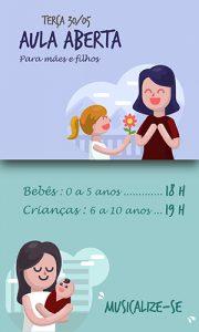 Mãe e filhos bebês e criança