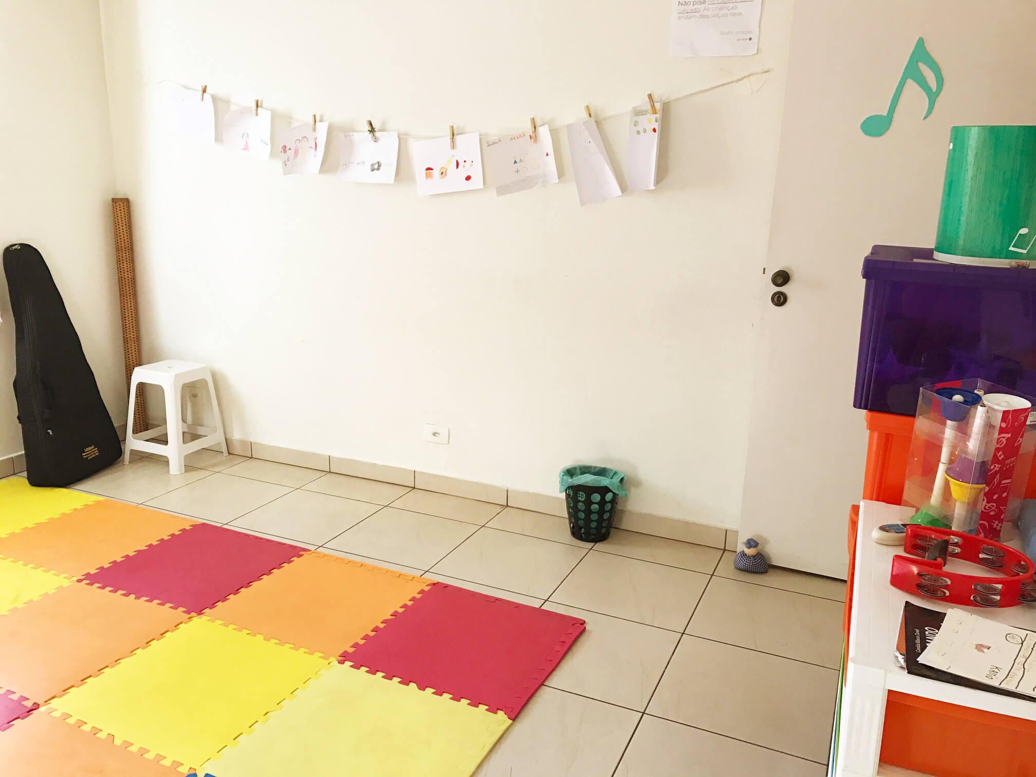 Sala de Musicalização Infantil