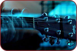 Movimento tocando violão Taylor