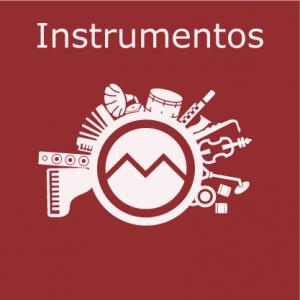 Logo Curso Instrumentos - vários instrumentos | Escola de Música Geração M
