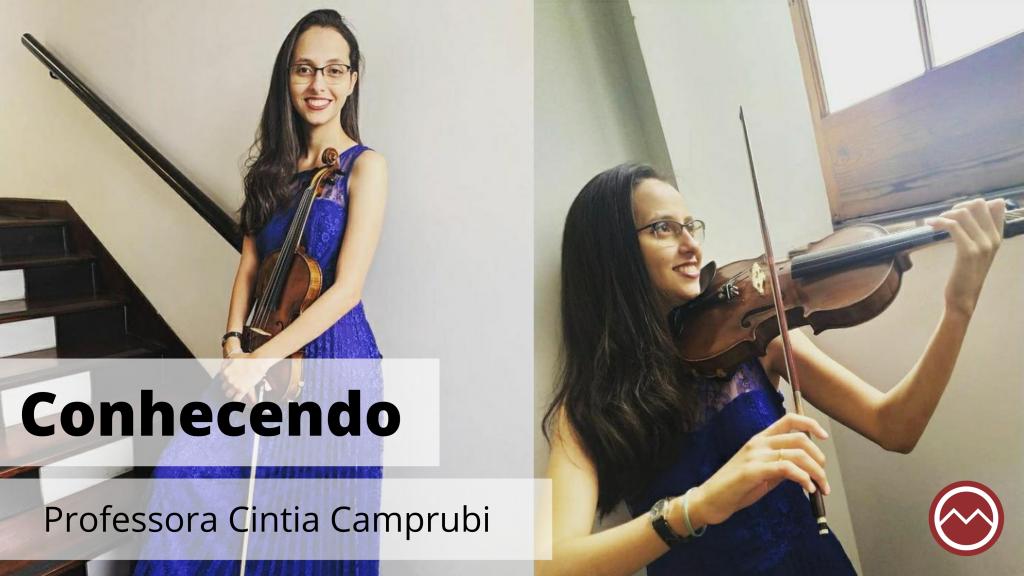 professora violino Cintia Camprubi