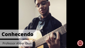 Professor de música Abner dion